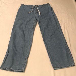 Tommy Hilfiger Wide Leg Jeans - Size 14